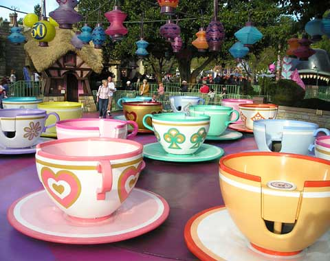 Amusement Park Teacups from Beston