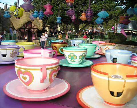 Amusement Park Teacups from Beston