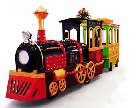 Amusement Trackless Train for Sale in Beston Group