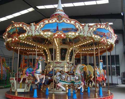 Beston Amusement Carousel Ride for Sale