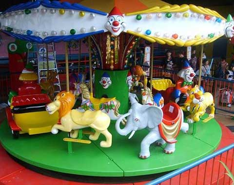 Beston Amusement Carousel Ride for Kids