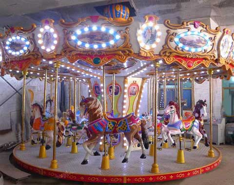 Kiddie Carousel Ride for Sale from Beston