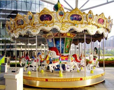 Good-quality Beston Kiddie Carousel Ride for Sale
