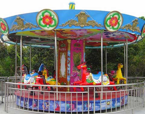 Beston Kiddie Fairground Carousel Ride for Sale