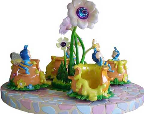Beston 4-cup Teacup Ride for Sale