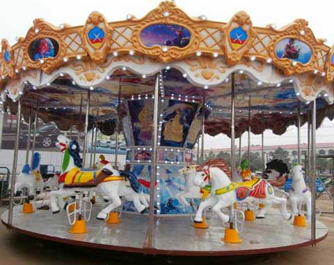 Beston Theme Park Kiddie Carousel Ride for Sale