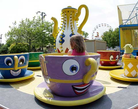 Kiddie Cup and Saucer Ride for Sale