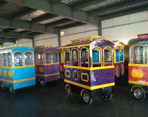 Factory of Amusement Trackless Trains from Beston