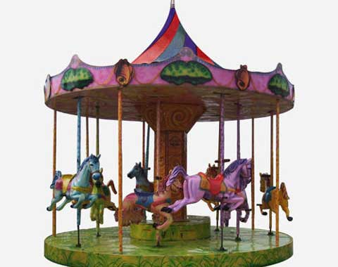 Fun Carousel Ride for Children from Beston