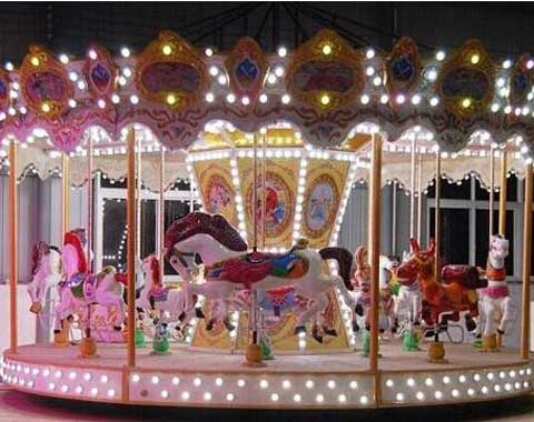 Fun Beston Fairground Carousel Ride for Sale