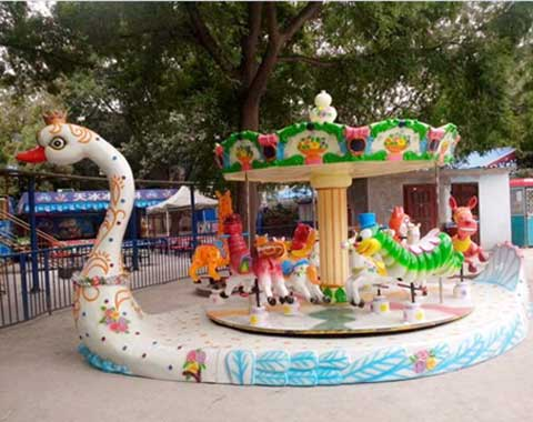 Goose Kiddie Carousel Rides for Sale