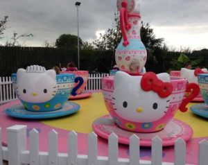 Hello Kitty Teacup Amusement Ride for Sale