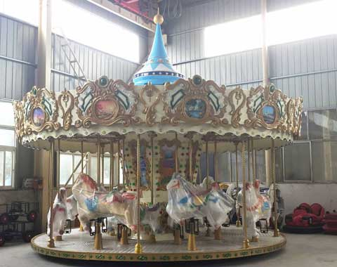 High-quality 16-seat Carousel Ride for Sale in Beston