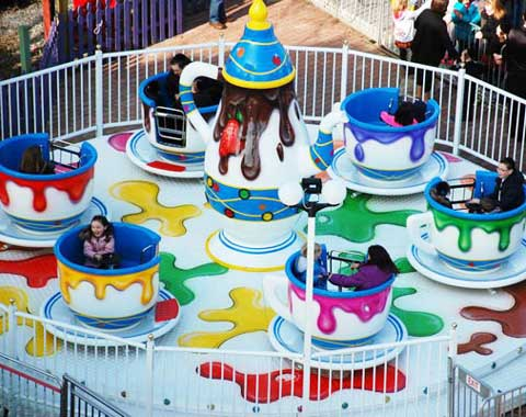 Spinning Teacup Ride for Sale in Beston