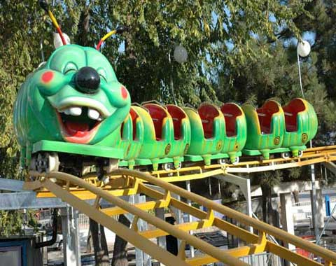 Wacky Worm Roller Coaster Ride for Sale
