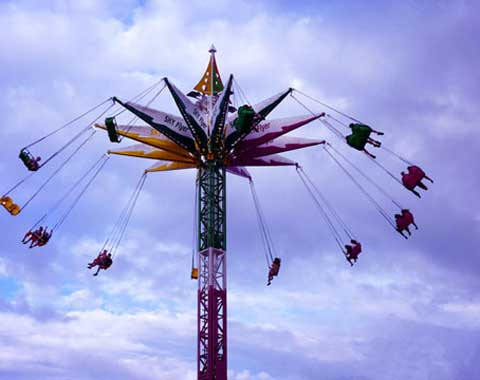 24-seat Swing Tower Ride for Sale