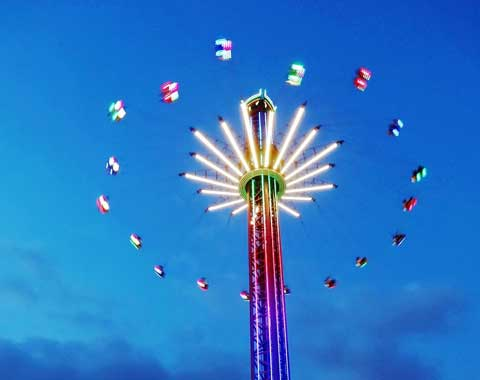 52-meter Carnival Swing Tower Ride for Sale in Beston