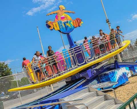 Amusement Surfs Up ride for Sale from Beston