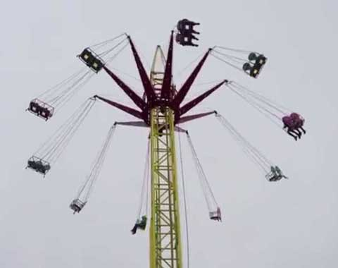 24-seat Swing Tower Ride for Sale in Beston