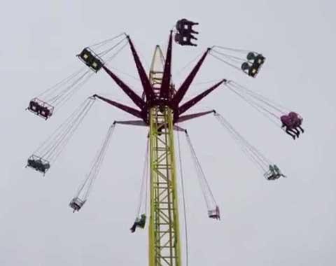 24-seat Swing Tower Ride for Sale in Beston