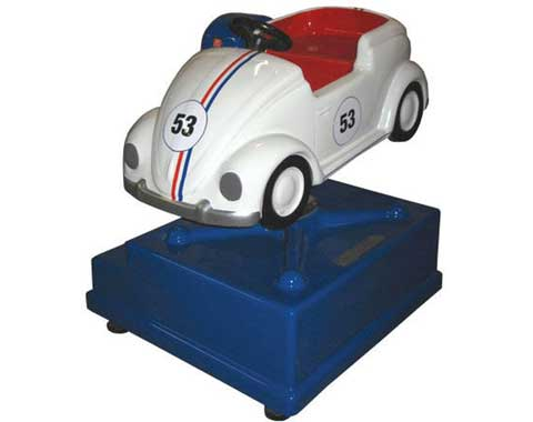 coin operated car ride