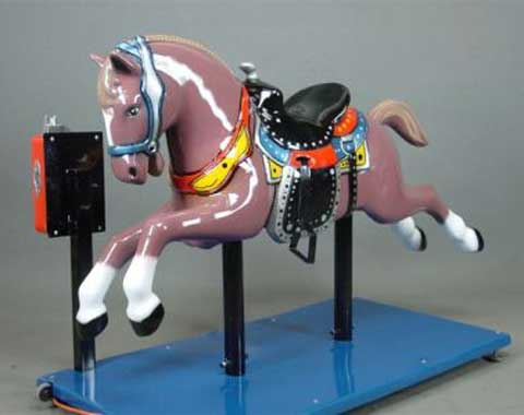 Coin-operated Horse Ride for Children in Beston