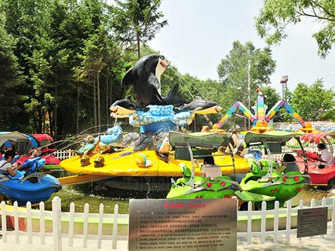 Fighting Shark Island Water Rides for Sale