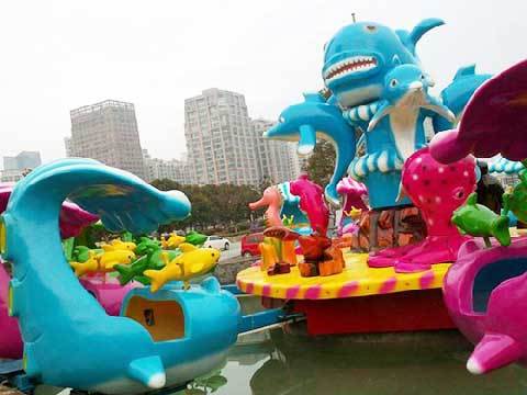 Cheap Fighting Shark Island Rides for Sale