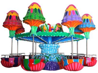 Jellyfish Spinning Amusement Rides for Sale in Beston