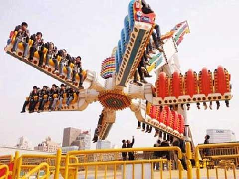 Top Scan Amusement Rides for Sale