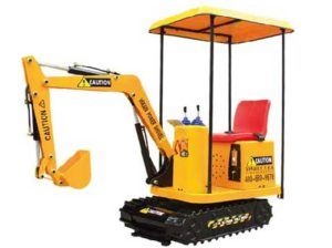 Kids Excavator Rides from Beston Amusement