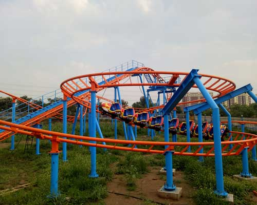 Amusement Park Roller Coaster for Family Party