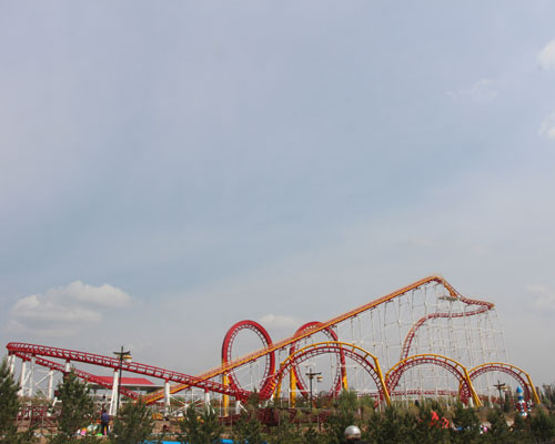 Beston 6 Loops Roller Coaster