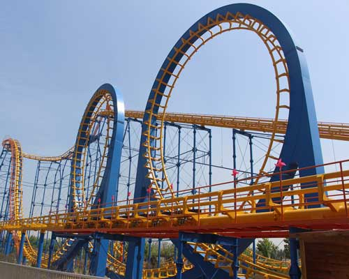 Large Roller Coaster for Sale from Beston