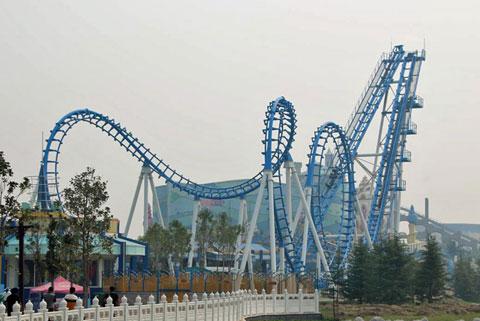 BNCRC 02 - Amusement Park Cobra Roller Coaster For Sale - Beston Company