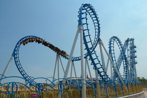 BNCRC 03 - Cobra Roller Coaster For Sale Cheap - Beston Company