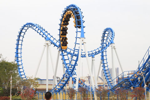 BNCRC 05 - High Quality Cobra Roller Coaster For Sale - Beston Company
