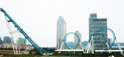 BNCRC 06 - Fairground Cobra Roller Coaster For Sale - Beston Company