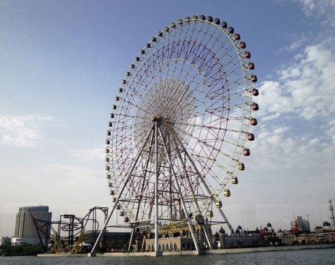 BNR 02 - Large 120m Ferris Wheel For Sale In Indonesia - Beston Factory