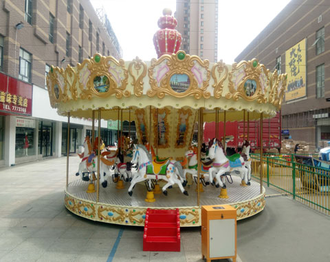 BNR 03 - Small Carousel For Sale To Indonesia - Beston Supplier