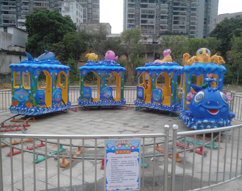 BNR 04 - Children Amusement Train Ride For Sale To Indonesia - Beston Company