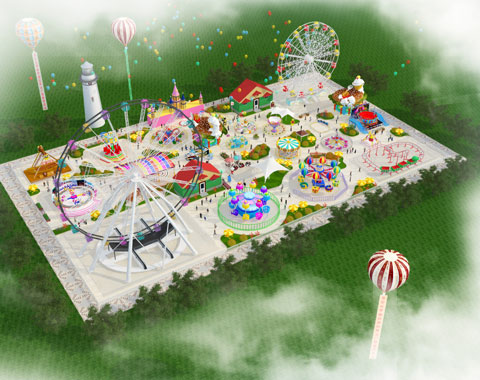 BNR 07 - Amusement Park Design For Indonesia - Beston Company
