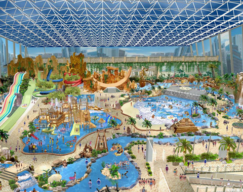 BNR 08 - Water Park Design For Indonesia - Beston Company