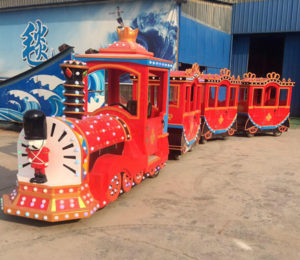 BNRFK 03 - Trackless Train For Sale In Kenya - Beston Company