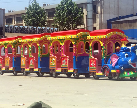 BNRFK 04 - Kiddie Train For Sale In Kenya - Beston Company