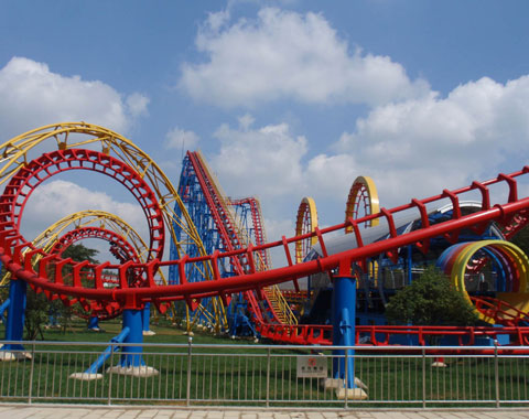 BNRFK 10 - Four-loop Roller Coaster For Sale Kenya - Beston Company