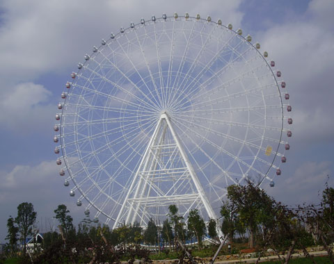 BRFSA 01 - 104m Amusement Park Ferris Wheel For Sale Cheap To Saudi Arabia - Beston Company