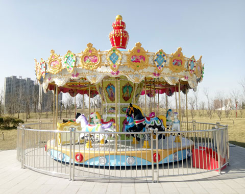 BRFSA 02 - 16 Seats Carousel Rides For Sale Cheap To Saudi Arabia - Beston Company