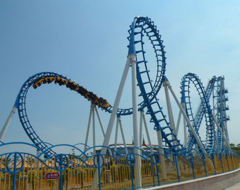 BRFSA 04 - Cobra Roller Coaster For Sale In Saudi Arabia - Beston Company