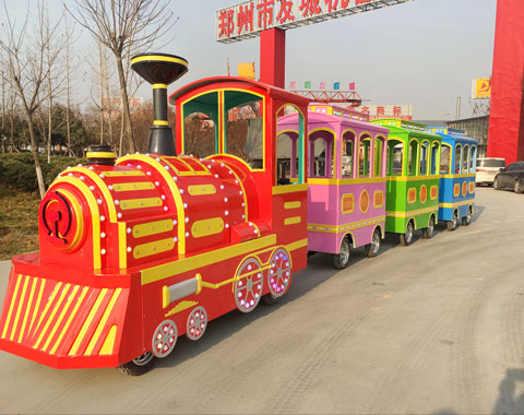 BRFSA 06 - Trackless Train For Sale Cheap In Saudi Arabia - Beston Company